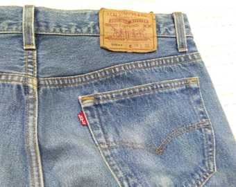 vintage LEVIS 501 mens jean W36 x L30 made in usa