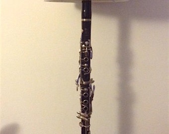JazzLamps Antique Clarinet Lamp, for the music lover!