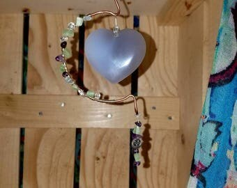 Heart sun/ moon catcher