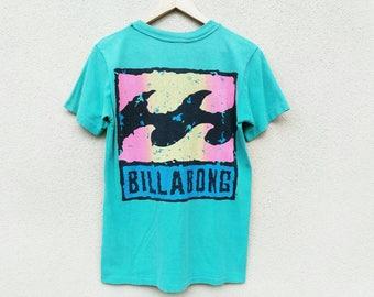 Vintage Billabong Tshirt | vintage surfing tshirt |