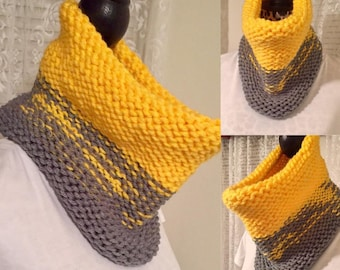 Made to Order - Two Color Ombre Cowl