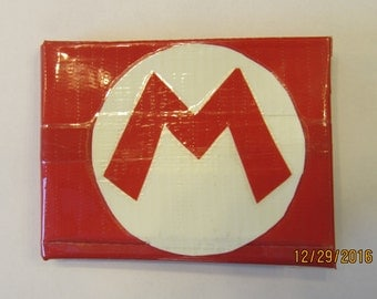 Mario Duct Tape Wallet