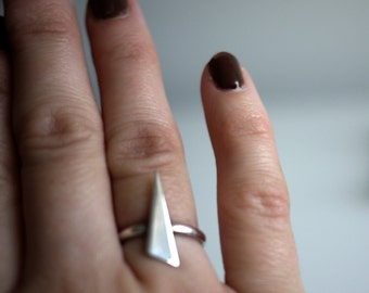 Spikey Silver Ring