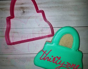 Purse cookie cutter
