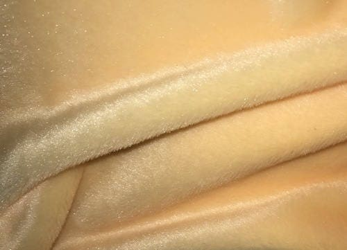 Faux Fur Light Beige Plush Fur Plush For Teddy Bears And