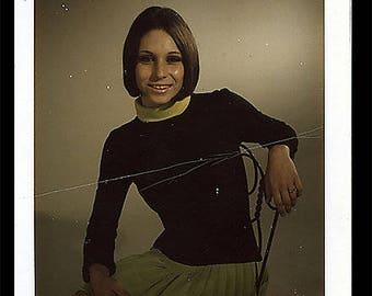 Vintage 1960/1970 Exotic Dancer Audition Photograph
