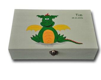 """Memory box """"Little dragon"""""""