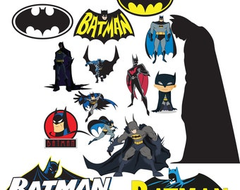 Logo Batman svg,png,jpg,eps for Print/ Silhouette Cameo/Cricut and Many More