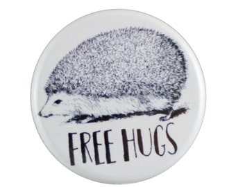 "Free Hugs 1.25"" Button Pin"