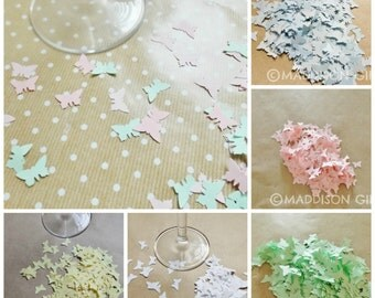 Butterfly Paper Scrapbook Embellishments Card Making Confetti Party Paper Craft Supplies
