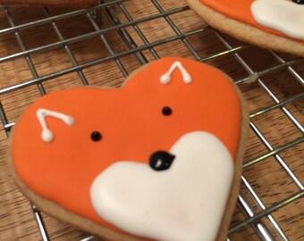 fox sugar cookie