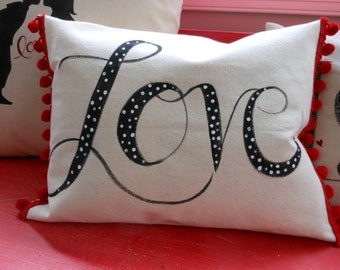 Valentine Pillow cover.
