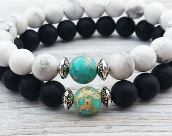 Long Distance Relationship Gifts Couples Bracelet Complete Me His And Hers Bracelet Gifts For Couples Yin Yang Bracelet