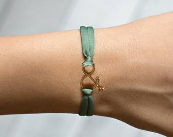 Ampersand, Ampersand Bracelet, Personalized Jewelry, Metal Ampersand, Wedding Gift, Anniversary Gift, Gold Ampersand Bracelet, Gift Bracelet