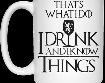 Game Of Thrones Mug, Game Of Thrones Gift, Funny Coffee Mug, Funny Mug, Funny Coffee Mug For Him, Funny Coffee Mug For Her, Meme Mug, Meme