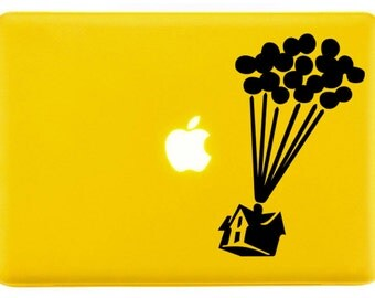 Up House with Balloons - Decorative Laptop Skin Decal