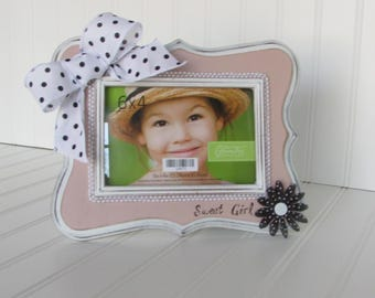 Sweet Girl 4x6 Picture Frame