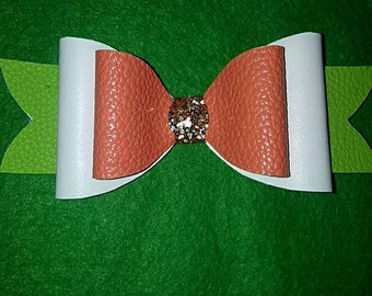 Large tricolour colour bow