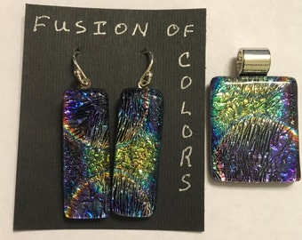 Fused Dichroic Jewelry
