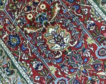 Persian rug Qum 5.3 × 3.7 ft 160 × 108 cm
