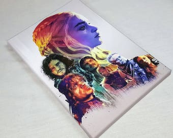 Game of theones A4 canvas
