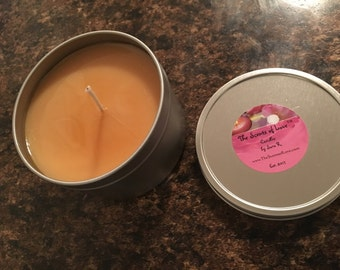 Sandlewood Scented Soy Candle