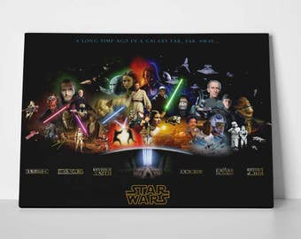Star Wars Poster Limited Edition 24x36 Poster | Star Wars Canvas