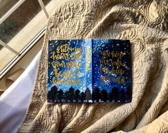 Custom Painted Small Journal