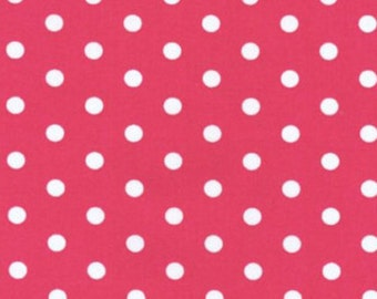 BT-2582-2 Red by Robert Kaufman Pimatex Basics - Red Polka Dot