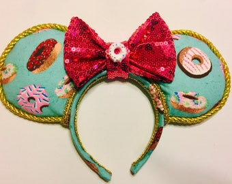 "Ready to Ship: ""Donuts on Parade"" ears"