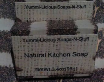 Natural kitchen soap