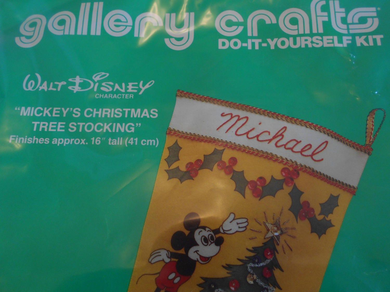 Disney's Mickey Mouse Christmas Stocking Kit, Mickey Mouse ...