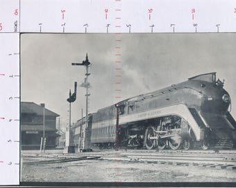 Frisco Lines steam locomotive 1026 at Sapulpa United States  Printed photograph ZAS132