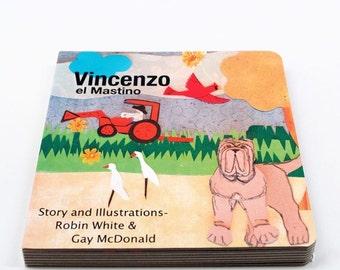 Vincenzo el Mastino Board Book