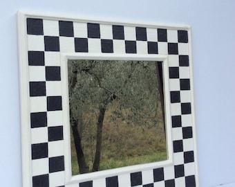 Cornice con specchio etsy - Specchio cornice nera ...