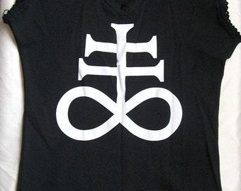 Black Leviathan Cross customized shirt