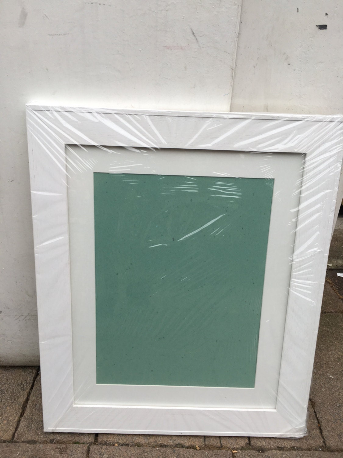 Wide white wooden picture frames 16x12 16x11 16x10 a3 15x12 4350 shipping jeuxipadfo Image collections