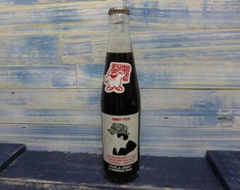 "Vintage ""Jimmy Feix"" Commemorative Coca Cola Unopened Bottle"
