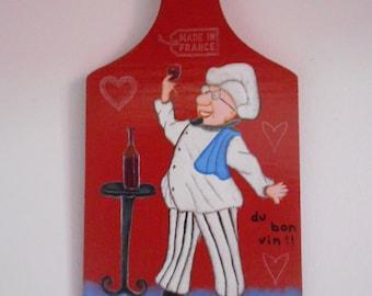 "Decorative kitchen set ""cook"" red"