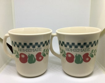 Vintage Corning Coffee Cup Set