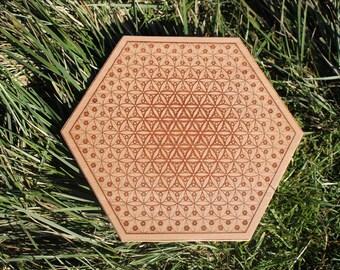Cosmic Flower - Crystal grid