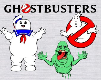Ghostbusters SVG Bundle, Slimer svg, Puft svg, Ghostsbusters clipart, cutting file, cricut download, svg files for silhouette, cricut, dxf