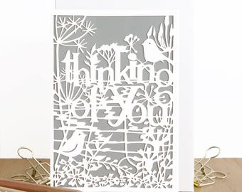 Thinking of you card, Sympathy card, Bereavement card, Condolence card, Sad grief card, Mourning card, Comfort card, My heart is with you