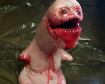 Horror mutant ornament