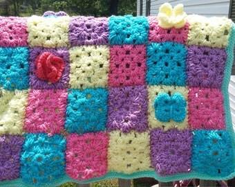 Spring Time Baby Blanket