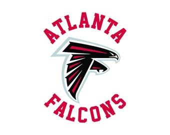 Atlanta Falcons Cut Files, Atlanta Falcons SVG Files, Atlanta Falcons SVG Cutting Files, Atlanta Falcons Cuttable SVG File, Instant Download