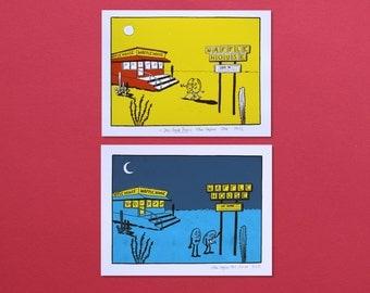 Waffle House - Day & Night Screenprints