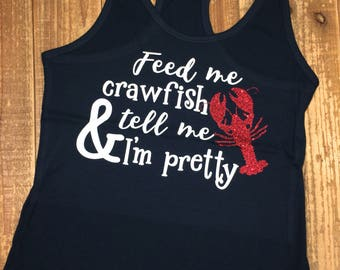 Pretty Crawfish Tank