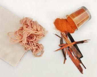 Natural Dye - Jaipur Pink (Sappanwood/ Brazilwood)