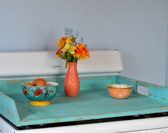 Wooden Stove Top Cover